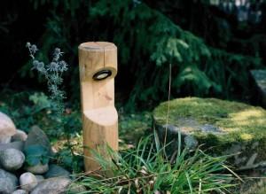 Gartenleuchten Aus Holz Seldnerhaus Burgfelden
